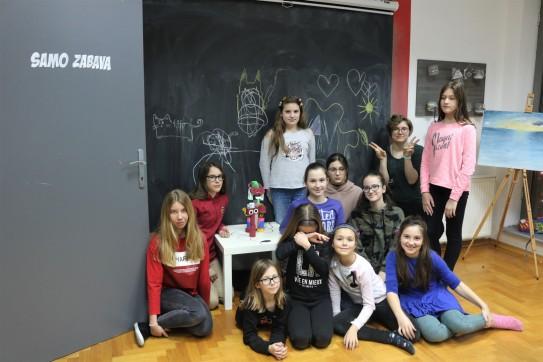 Grupa Tehnika crtanja, slikanja i modelliranja